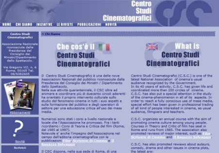 Portfolio Starfarm Internet Communications srl - Centro Studi Cinematografici- Roma