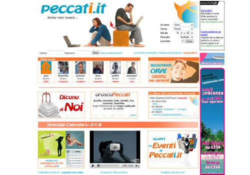 Portfolio Starfarm Internet Communications srl - Peccati