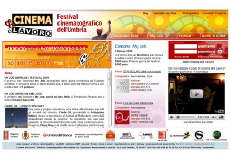 Portfolio Starfarm Internet Communications srl - Festival Cinematografico dell'Umbria