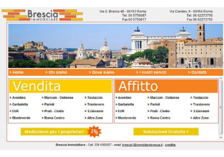 Portfolio Starfarm Internet Communications srl - Brescia Immobiliare- Roma