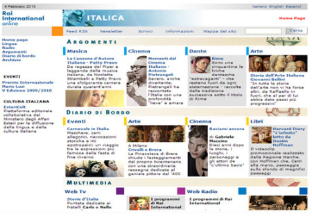 Portfolio Starfarm Internet Communications srl - Italica