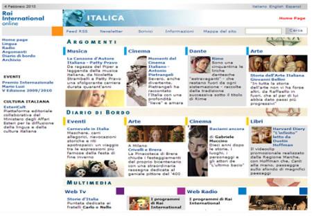 Portfolio Starfarm Internet Communications srl - Italica