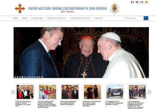 Portfolio Starfarm Internet Communications srl - Sacro Militare Ordine Costantiniano di San Giorgio