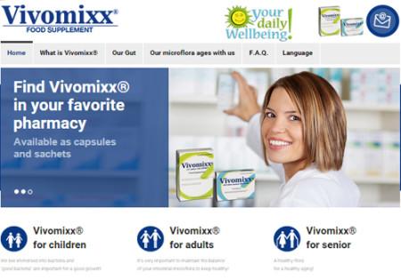 Portfolio Starfarm Internet Communications srl - Integratore alimentare Vivomixx