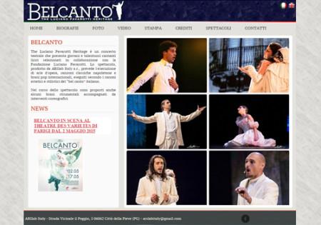 Portfolio Starfarm Internet Communications srl - Belcanto - The Luciano Pavarotti Heritage