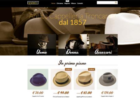 Portfolio Starfarm Internet Communications srl - Antica Cappelleria Troncarelli - Roma